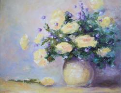 Picturi cu flori Vas cu flori 01