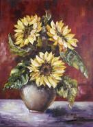 Picturi cu flori Floare de soare