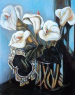 Picturi cu flori Vaza cu flori 2
