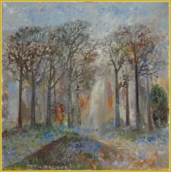 Picturi cu flori Padurea