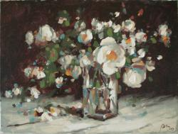 Picturi cu flori asteptand primavara