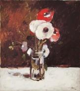 Picturi cu flori Flori din gradina lui luchian