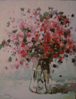 Picturi cu flori Roz...