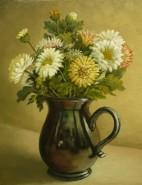 Picturi cu flori Cana cu flori