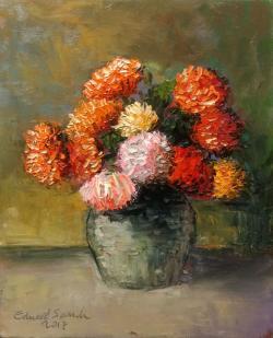 Picturi cu flori flori de toamna 2017