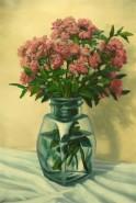 Picturi cu flori Flori de toamna intr-un borcan