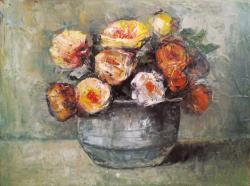 Picturi cu flori flori tecucene