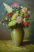Picturi cu flori Natura statica cu flori3