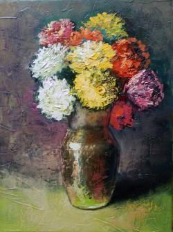 Picturi cu flori Vas cu flori - 2016