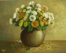 Picturi cu flori Vas cu flori 3