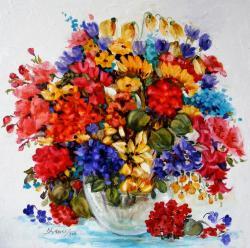 Picturi cu flori explozia primaverii