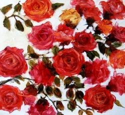 Picturi cu flori Trandafiri de mai 2016