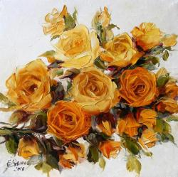 Picturi cu flori Trandafiri gradina olandeza