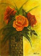 Picturi cu flori La multi ani!