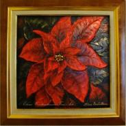 Picturi cu flori Poinsettia 2