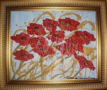 Picturi cu flori Poppies