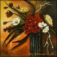 Picturi cu flori Romantic bouquet