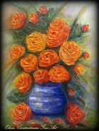 Picturi cu flori Trandafirii mi-au soptit...