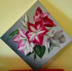 Picturi cu flori AMARILIS