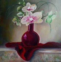 Picturi cu flori Beautiful orchid 2