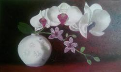 Picturi cu flori Orchid 2
