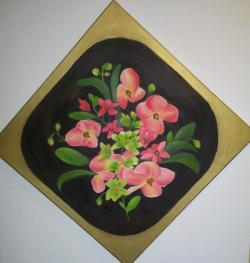 Picturi cu flori ORHIDEE ROZ