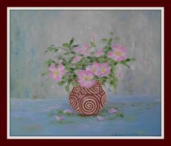 Picturi cu flori flori de macies 2