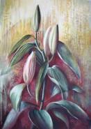 Picturi cu flori Asteptand sa infloreasca