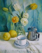 Picturi cu flori Happy morning