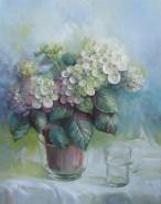 Picturi cu flori Hydrangea 1