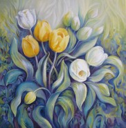 Picturi cu flori Lalele 1