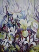 Picturi cu flori Magnolii 2