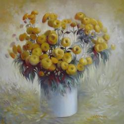 Picturi cu flori Simfonie de toamna