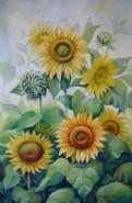 Picturi cu flori Zi de vara