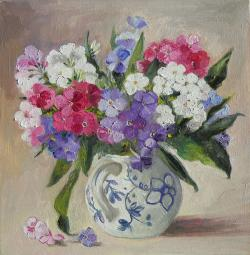 Picturi cu flori brumarele in vas