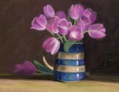 Picturi cu flori Cana cu lalele
