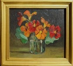 Picturi cu flori condurasi in borcan 2