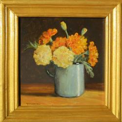 Picturi cu flori craite in cana 3