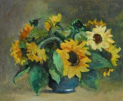 Picturi cu flori floarea soarelui 13