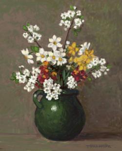 Picturi cu flori flori de primavara .4
