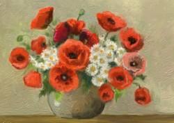Picturi cu flori Flori de vara