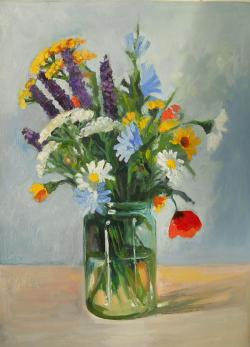 Picturi cu flori flowers field