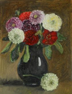 Picturi cu flori gherghine 12