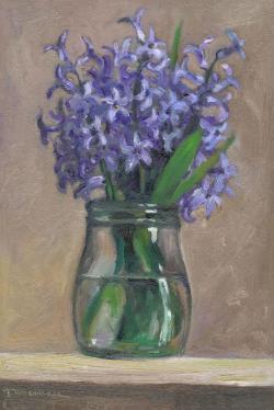 Picturi cu flori hyacinth