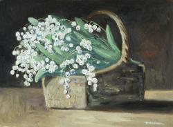 Picturi cu flori Lacramioare in cos