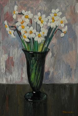 Picturi cu flori narcise 3