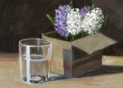 Picturi cu flori Natura statica cu zambile