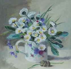 Picturi cu flori Paralute in cana