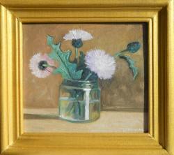 Picturi cu flori pufuleti