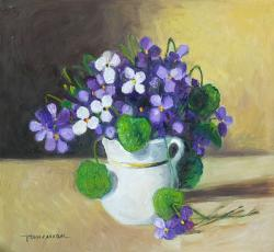 Picturi cu flori toporasi 5